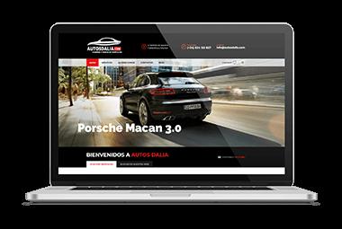 web venta alquiler coches malaga