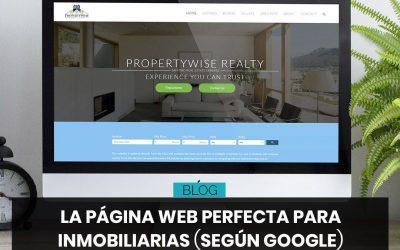 La página web perfecta para inmobiliarias
