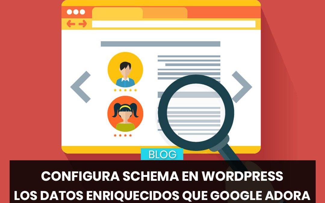 Configura Schema en WordPress, los Rich Snippets que Google adora