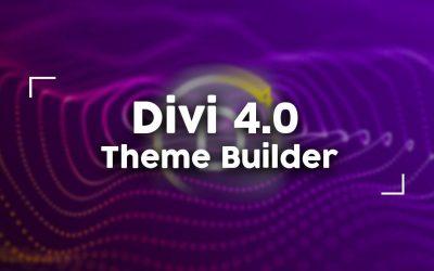Divi 4.0 y el nuevo Theme Builder
