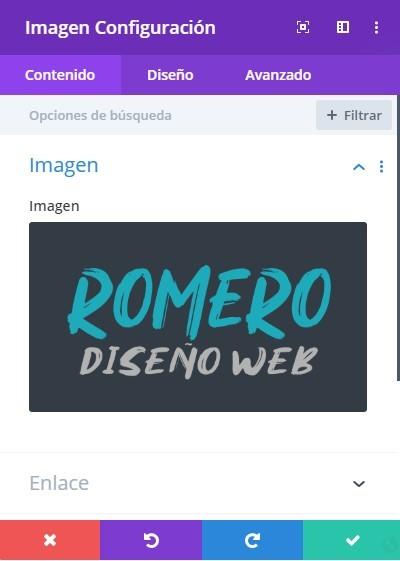 insertar logo en cabecera divi