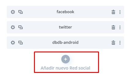 Anadir mas redes sociales divi