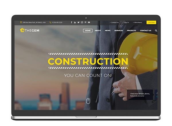 web paginas construccion y reformas