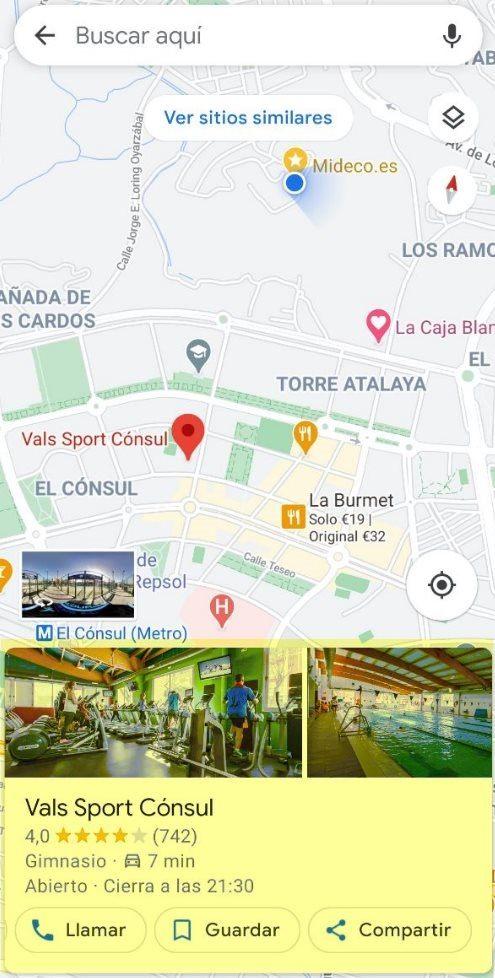 como hacer una resena desde google maps
