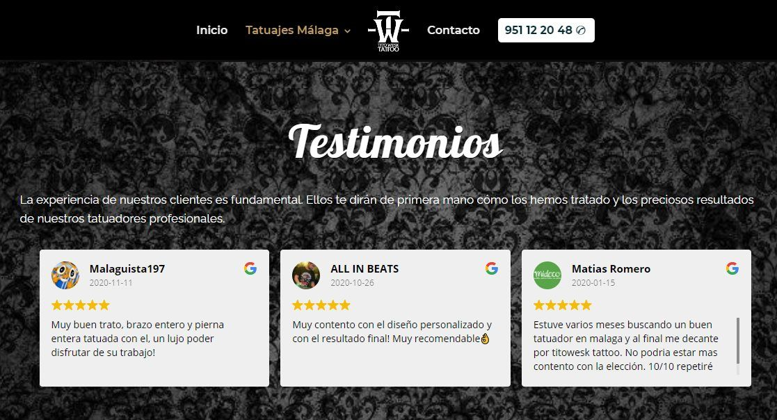 integrar en tu web google reviews