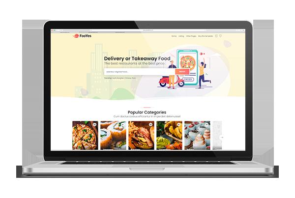 paginas web delivery
