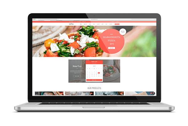 diseno web en restaurantes
